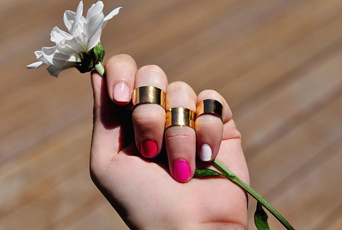 Как красить модно ногти