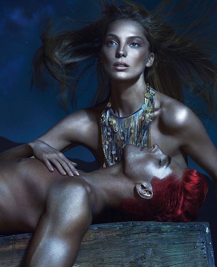 Весенне-летняя кампания Versace (фото 1)