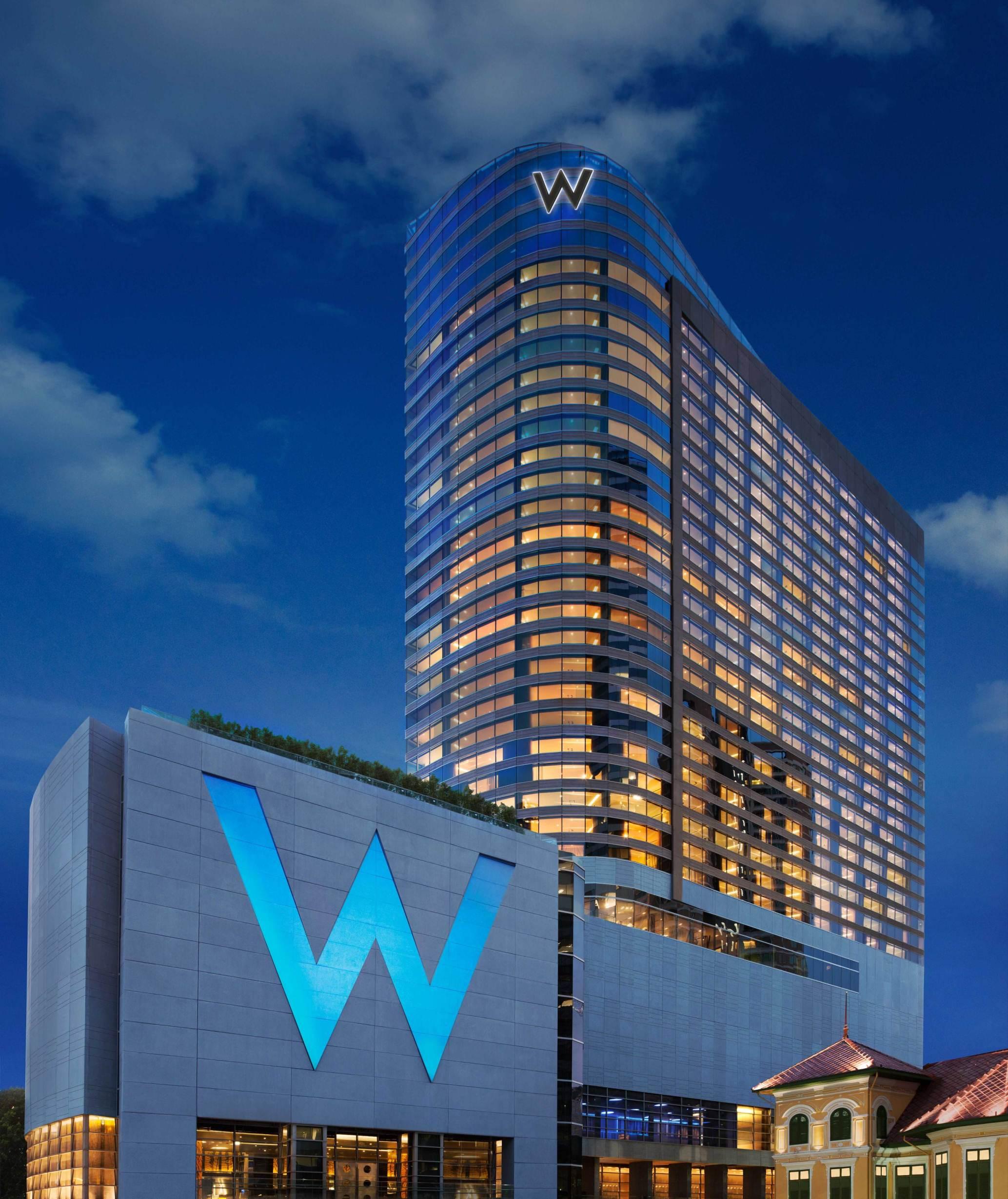 Первый отель W в Бангкоке (фото 1)