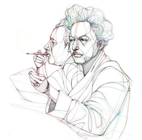 Знаменитые писатели за работой (фото 6)