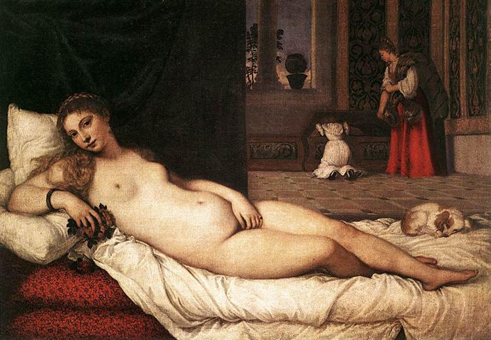 тициана «венера урбинская».