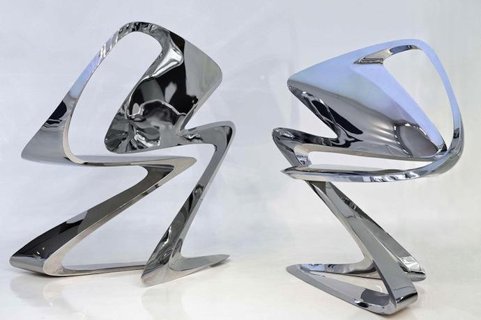 Заха Хадид откроет дизайн-галерею в Лондоне (фото 3)
