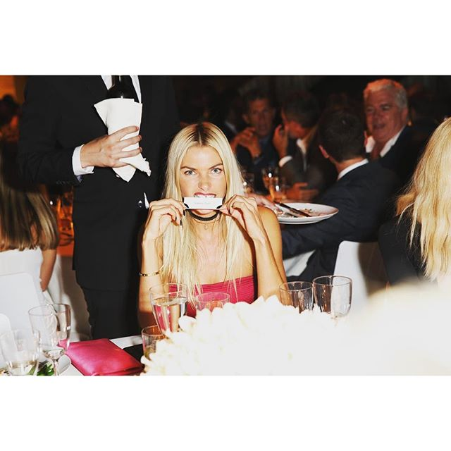 #aboutlastnight #HANGRY   at the Tom Ford show in the beautiful Four Seasons restaurant #nyc Thanks for the Photo @bfa