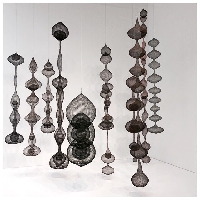 #tbt #ruthasawa at #hauserwirthschimmel from Revolution in the Making: Abstract Sculpture by Women #fountainlady #dtla