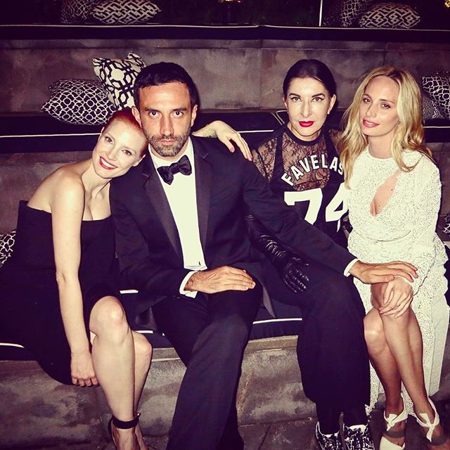 The only man who juggles as many wives as I do: Looking forward to what you have up your sleeve next @riccardotisci17