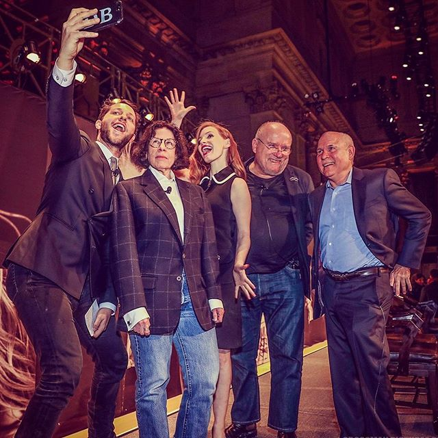 Because I firmly believe in the concept: Selfie or it didn't happen. I moderated a panel talk with these legends: world's wittiest writer Fran Leibowitz, award winning actress Jessica Chastain, fashion photographer Peter Lindbergh and legendary field shooter Steve Mccurry. (Noted: I do not think Fran believes in this concept.)