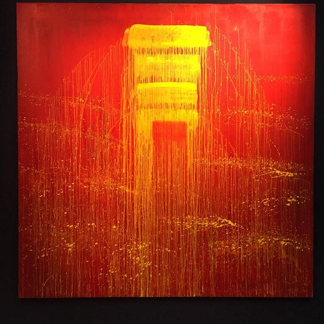 Happy Women's Day indeed   This beautiful red work by #PatSteir sold for $830,000 against an estimate of $190,000-250,000 tonight     At 78 years old, it is due time that this seminal artist is recognized by the art market
