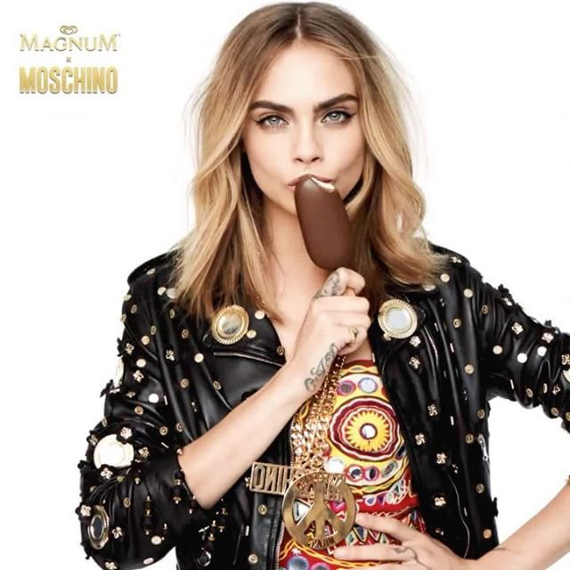 ROAR!   #ReleaseTheBeast #MagnumDouble @moschino @magnum #spon
