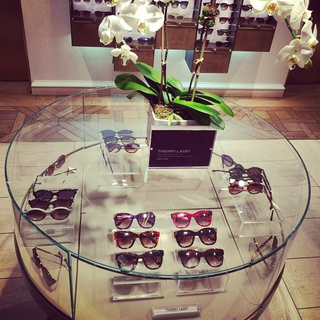 make sure to pass by #BergdorfGoodman @bergdorfs for the #thierrylasry #sunglasses #TrunkShow which is starting today until next Monday ...