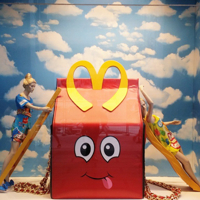 very #HappyMeal ... #Moschino ...