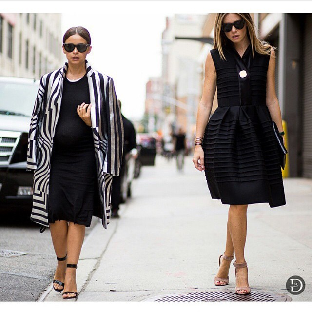 Thank You @theurbanspotter for the picture @miraduma #NYFW