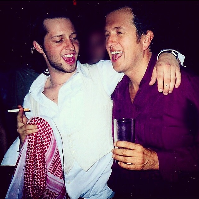 Me and @mariotestino in 2002: I had just stopped being a teenager, he had just started being a legend. Wishing you a very happy birthday, MT!