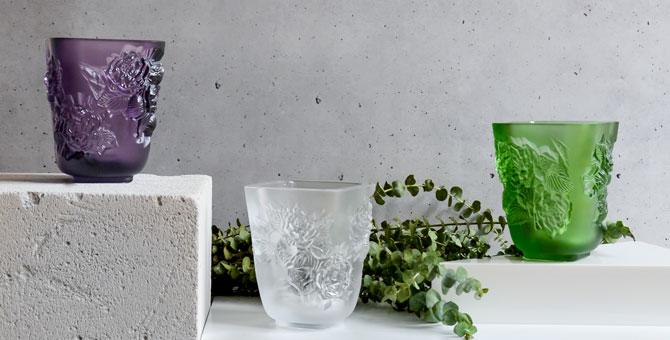 Lalique представил коллекцию предметов интерьера Botanica