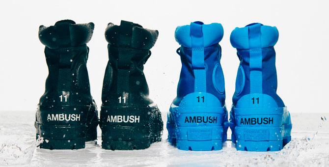 Ambush и Converse выпустили непромокаемые ботинки
