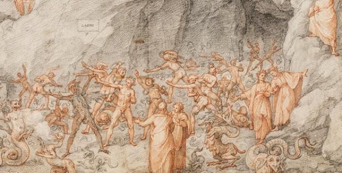 Уффици разместила иллюстрации к «Божественной комедии» в честь 700-летия со дня смерти Данте
