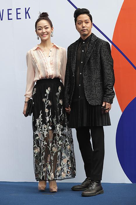 Ким Ён А с мужем