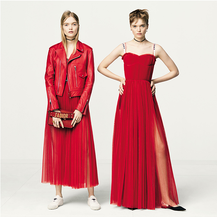 Dior снял сестер-близняшек Рут и Мей Белл. Фотограф: Бриджитт Лакомб