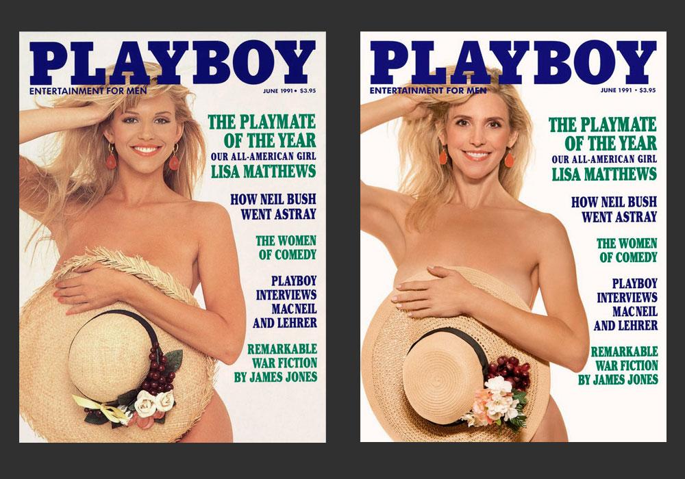 Экс-супруга Хефнера снова угодила наобложку Playboy 29 лет спустя