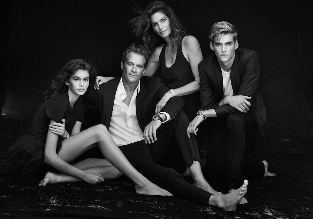 синди кроуфорд фото семья