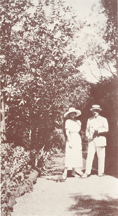 Ольга Хохлова и Пабло Пикассо. 1925