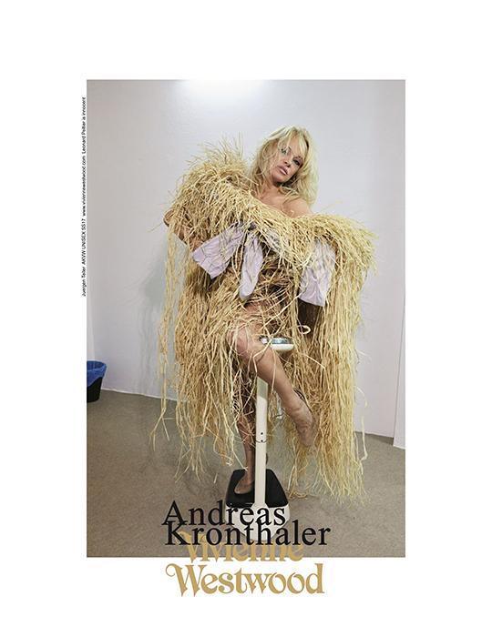 Памела Андерсон стала лицом Vivienne Westwood