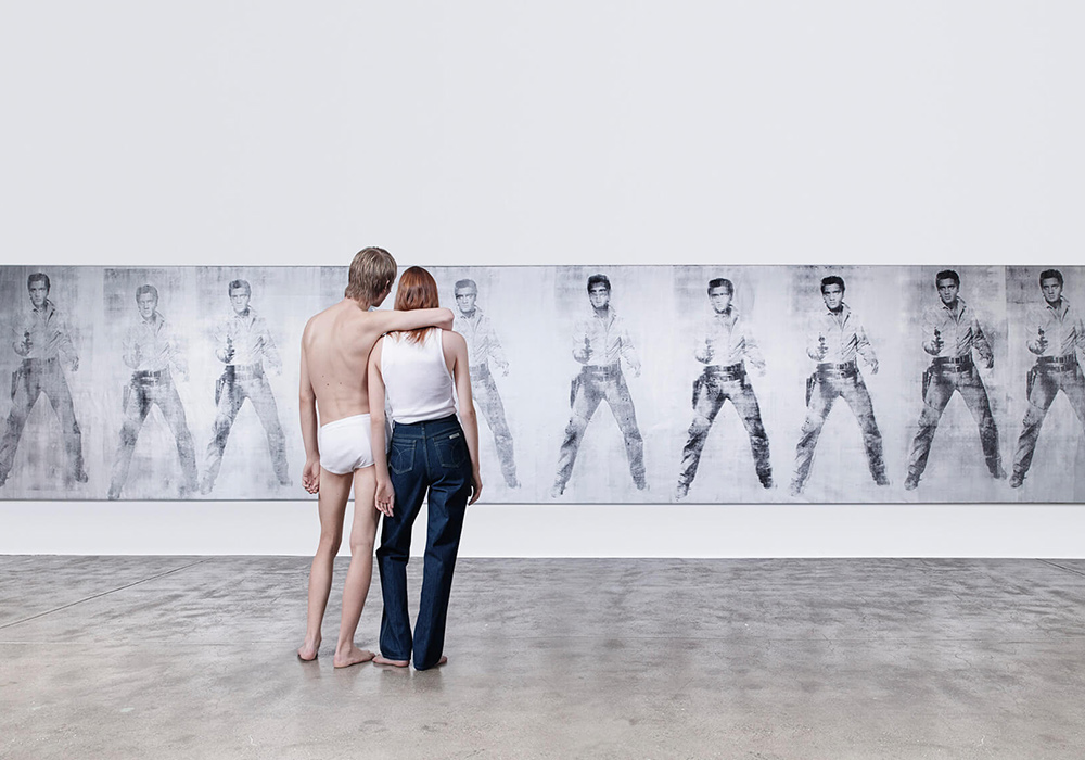 Calvin Klein провел фотосессию для новой коллекции в картинной галерее 6