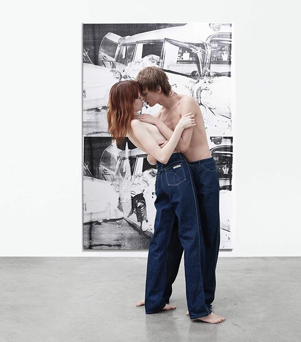 Calvin Klein провел фотосессию для новой коллекции в картинной галерее 7