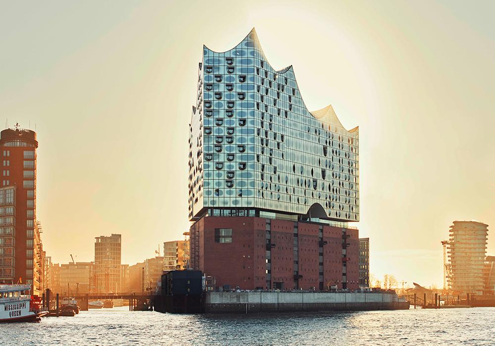 Новое строение филармонии открылось вГамбурге