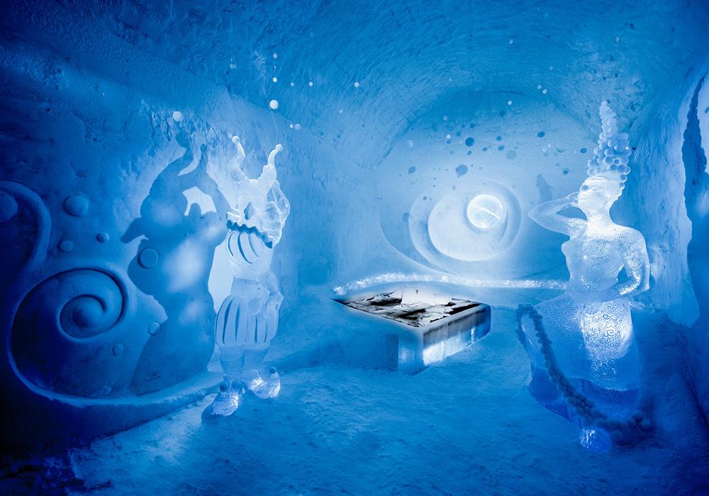 ВШвеции открылся 1-ый вмире всесезонный ледяной отель