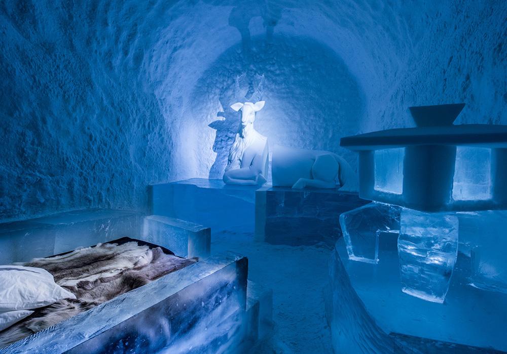 ВШвеции открылся всесезонный ледяной отель