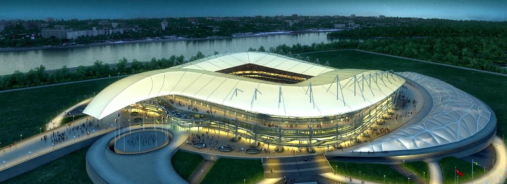 Новый стадион в Ростове-на-Дону