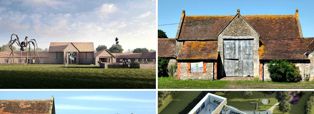 Галерея Hauser & Wirth в английской деревне