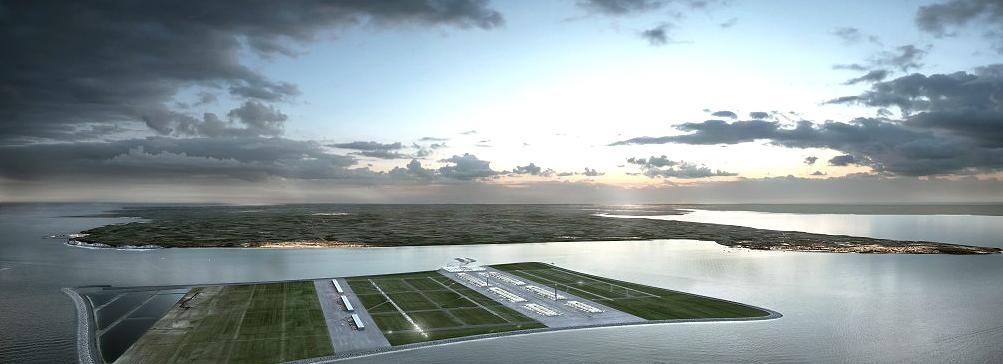 Плавучий аэропорт в устье Темзы
