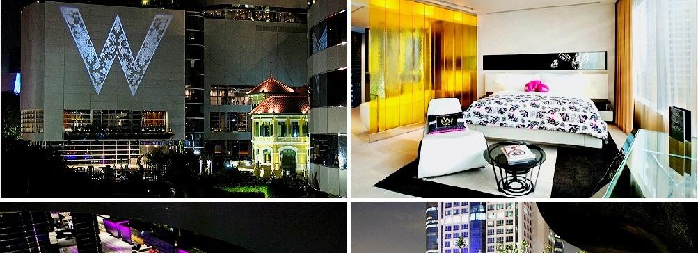 Первый отель W в Бангкоке