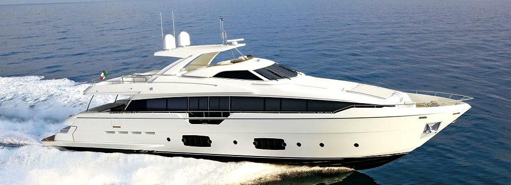 Новая яхта Ferretti 960