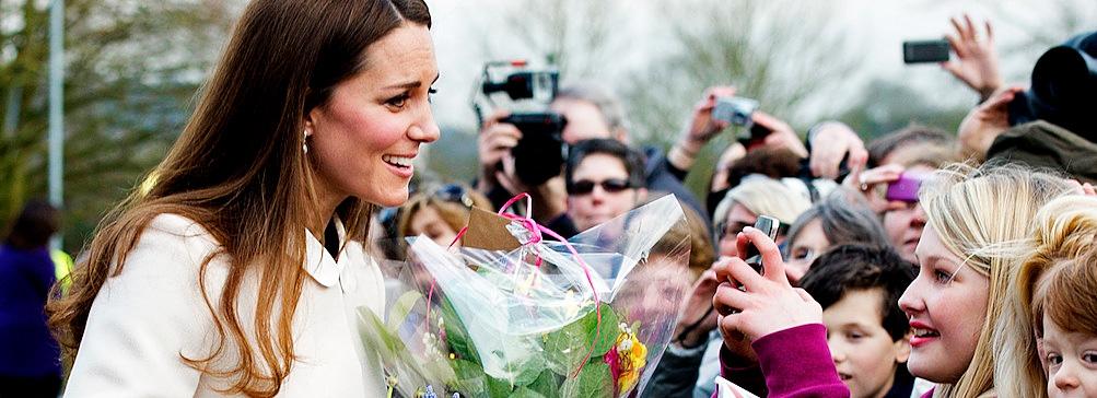Принц Уильям и Кейт Миддлтон посетили благотворительный фонд