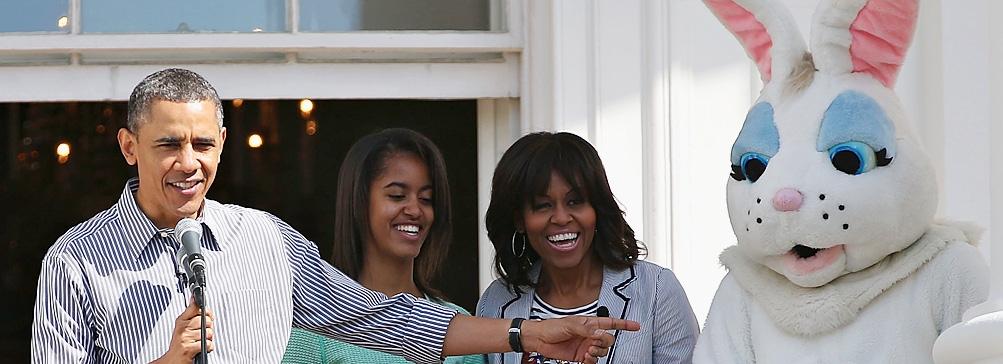 В Белом доме отпраздновали пасху