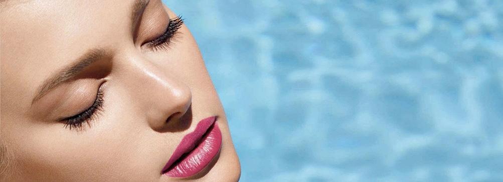 Сигрид Агрен в новой рекламной кампании Chanel Beauty