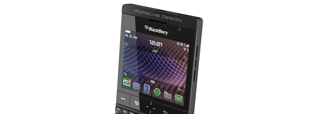 Новая версия Blackberry Porsche Design P'9981