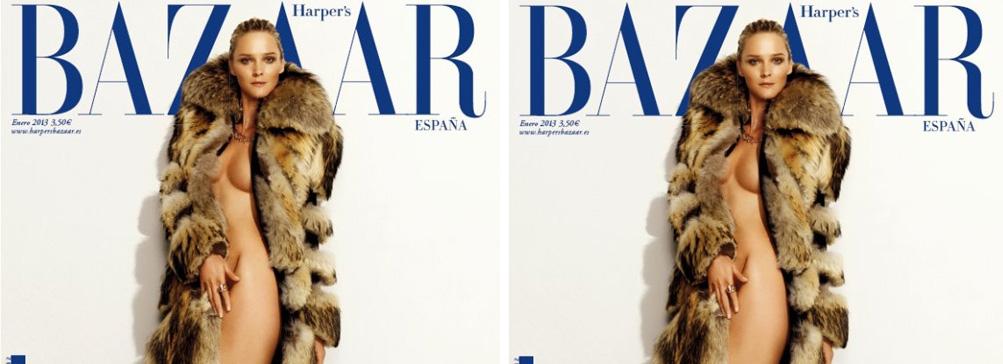 Январская обложка Harper's Bazaar Spain