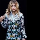 The stunning @chloegmoretz wearing the AW16 Murtany Dress embellished with @swarovski crystals shot by @janwelters_official & @karenprestonkp for Glamour UK