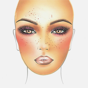Визажист Make Up For Ever рисует для Buro 24/7