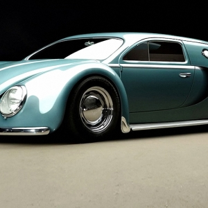 Bugatti Veyron 1945 от RC82 Workchop