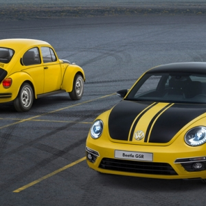 Первые снимки Volkswagen The Beetle Racer