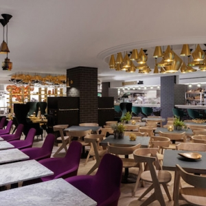 В лондонском Harrods открылось кафе Sandwich by Tom Dixon