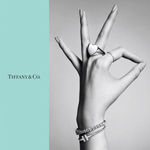 Эль Фаннинг и Дэвид Холберг в рекламной кампании Tiffany & Co