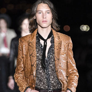 Saint Laurent, коллекция весна-лето 2019