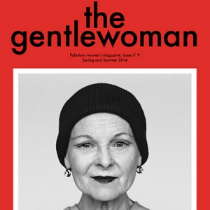 Вивьен Вествуд на обложке The Gentlewoman №9