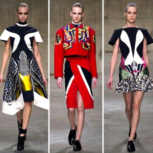 Обзор Buro 24/7: Peter Pilotto, осень-зима 2013/14