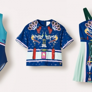 Весенняя коллекция adidas Originals by Mary Katrantzou